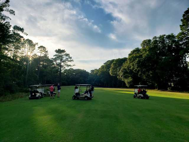 A view from Olde Beaufort Golf Club.