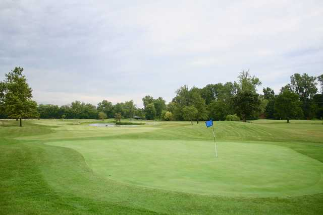 View of the 2nd green at St. Peters Golf Club.