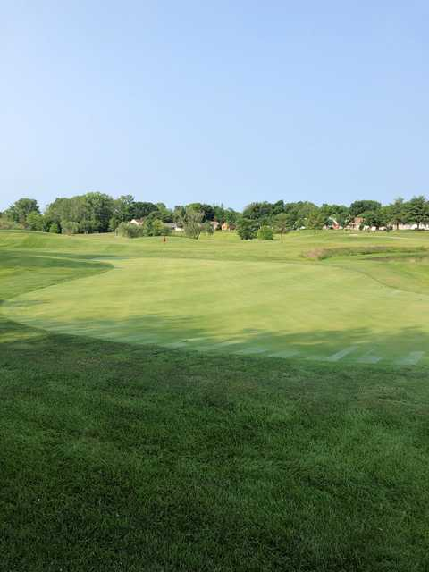 View of the 12th green at St. Peters Golf Club.