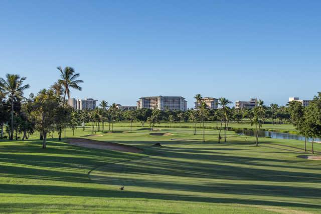 View from the 16th green at Royal Ka'anapali.