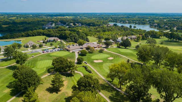 Aerial view of Dub's Dread Golf Club.