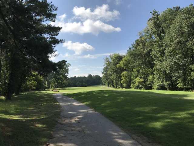 View from the 10th tee at Sugar Creek Golf & Tennis Club.