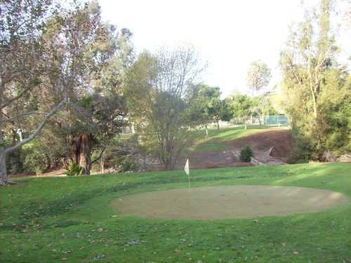 A view from Par-3  Course at DeBell Golf Club.