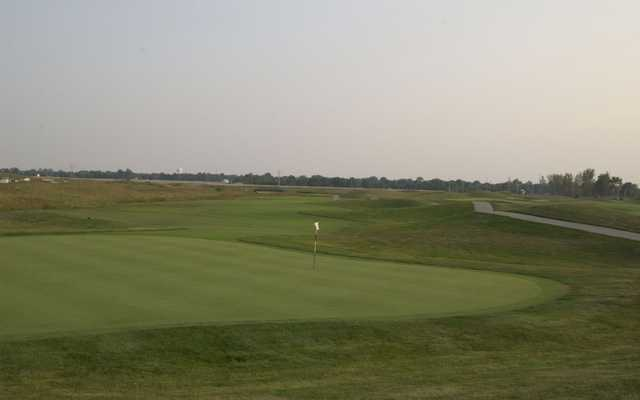 A view from Ironhorse Golf Course.