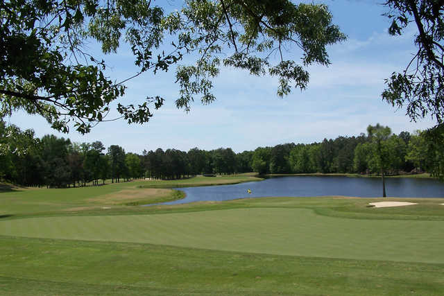 View of the 9th hole from the Black Course at Keith Hills Golf Club.