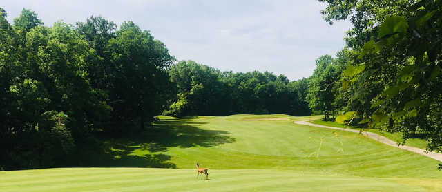 A view from Eagle Creek Golf Course.