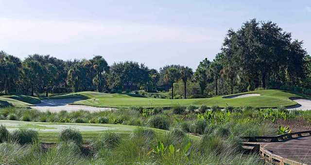 A view of a green at Kensington Golf & Country Club.