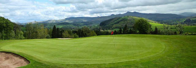A view of a hole at Cradoc Golf Club.