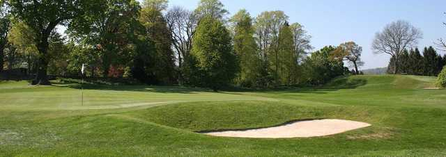 A view of a hole at Hexham Golf Club.