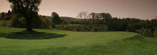 A view of a green at Hexham Golf Club.