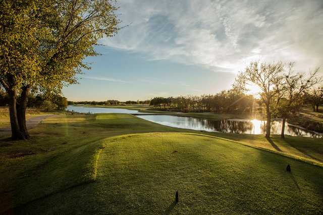 View from a tee at Winter Creek Golf & Country Club.