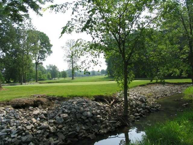 A view from Woussickett Golf Course