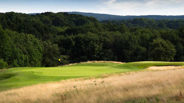 A view of a hole at Woosnam Course from Dale Hill Hotel & Golf Club.