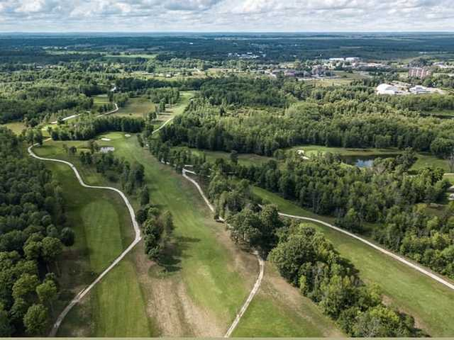Aerial view from Perth Golf Course.