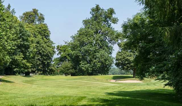 A view of a green at Orchardleigh Golf Club.