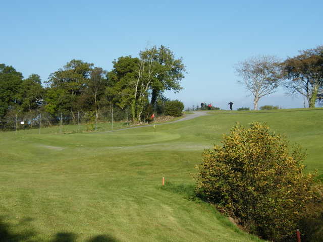 A view of hole #1 at Castlebar Golf Club.