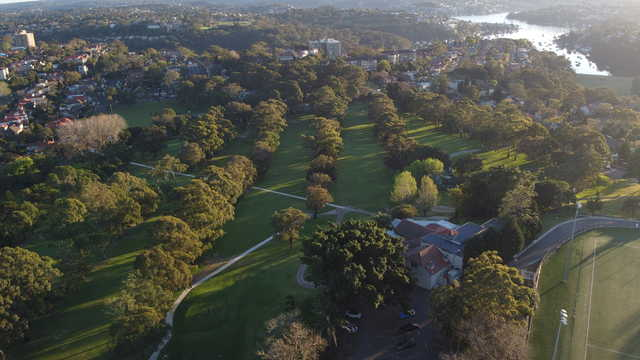 Aerial view from Cammeray Golf Club
