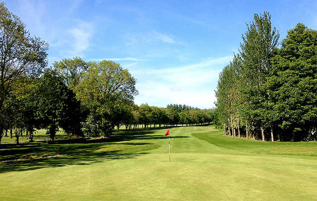 A view of hole #11 at Knock Golf Club.