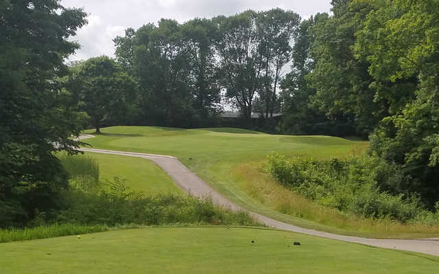 A view from tee #16 at Pine Hills Country Club.