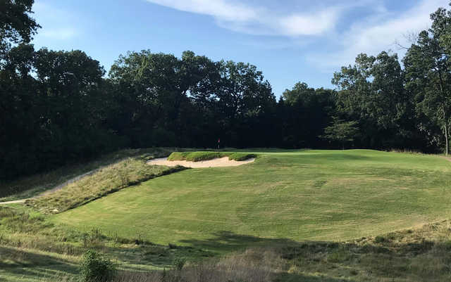 A view of a hole at Signal Mountain Golf & Country Club.