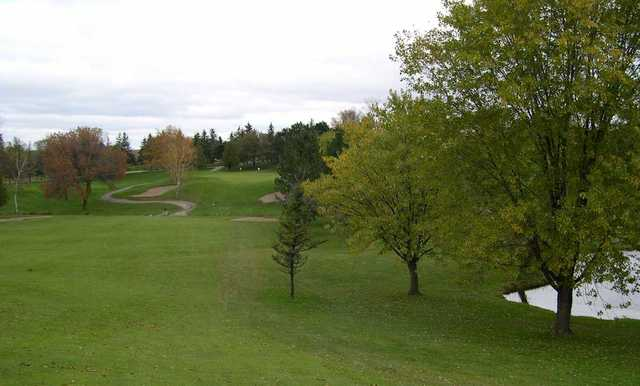 A view from fairway #9 at Yellow from Glen Eagle Golf Club.