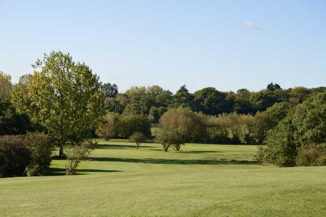 View of the 14th hole at Chingford Golf Course.