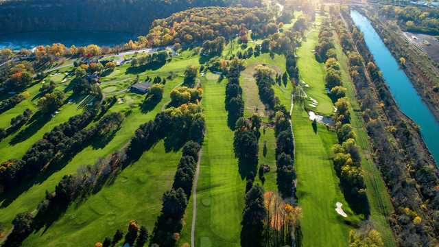 Aerial view from Whirlpool Golf Course.
