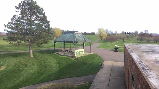 A view from Ely Park Golf Course.