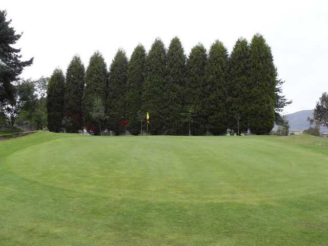 A view of a hole at Kirkintilloch Golf Club.