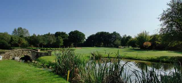 View of the 15th hole at Nuneaton Golf Club.