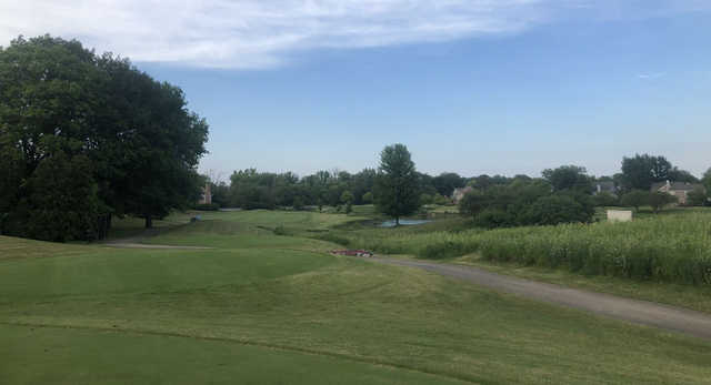 A view from a tee at Arboretum Golf Club.
