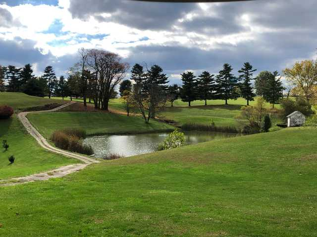 A view from Adams County Country Club.