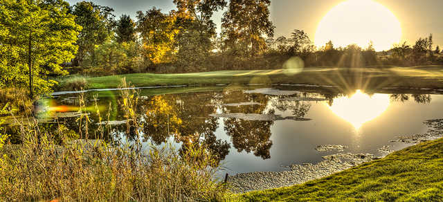 A sunny day view from Hunters Ridge Golf Course.