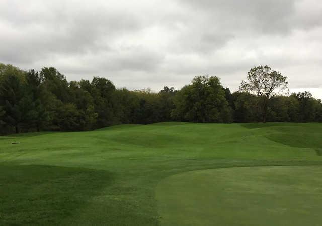 A view of a fairway at Piper Glen Golf Club.