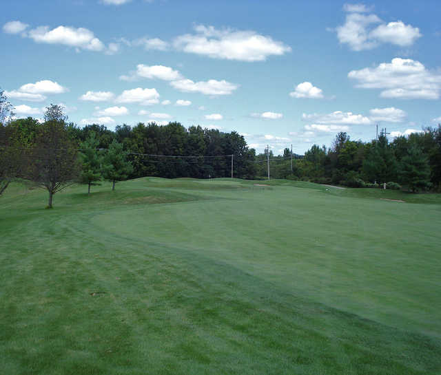 A view from a fairway at Piper Glen Golf Club.