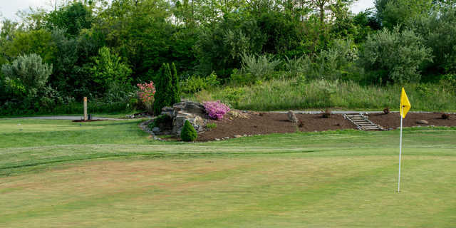 A view of a hole at Raven Rock Golf Course.