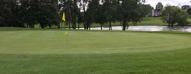 A view of hole #3 at Streamwood Oaks Golf Club.