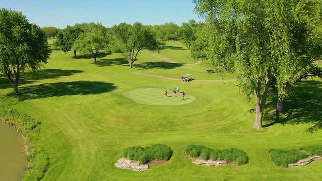 A sunny day view from Bloomingdale Golf Club.