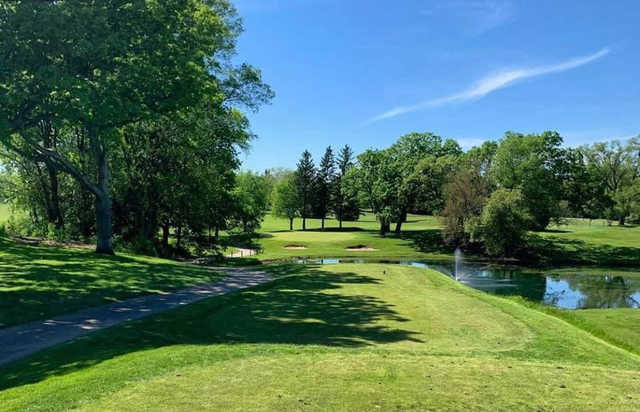 A view from tee #7 at Nippersink Golf Club & Resort.