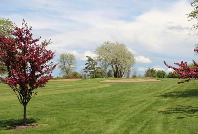 A spring day view from Hartford Golf Club.