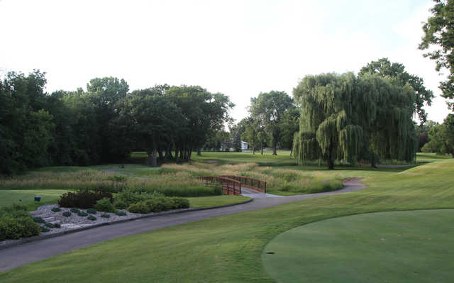 A view from Oshkosh Country Club.