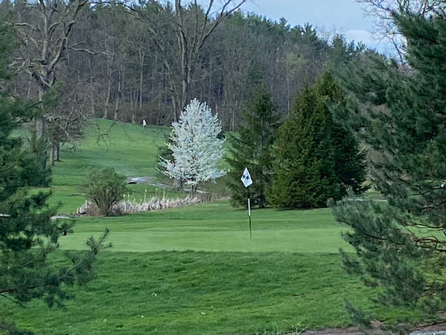 View of the 3rd hole at Huntingdon Country Club.