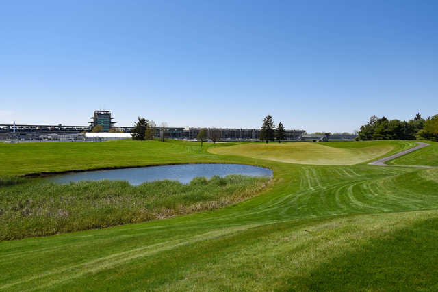 View from the 7th tee at Brickyard Crossing.