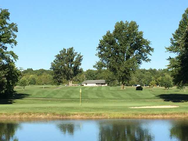 A view from Rolling Meadows Golf Course.