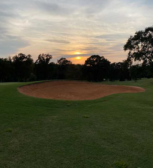 Sunset view from Yadkin Country Club.