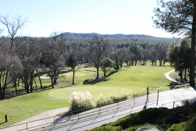 A view from Pine Mountain Lake Golf Course.