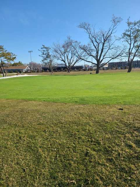 View of a green at Winthrop Golf Club.