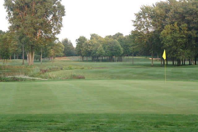 View from the 7th green at Woodside Golf Course