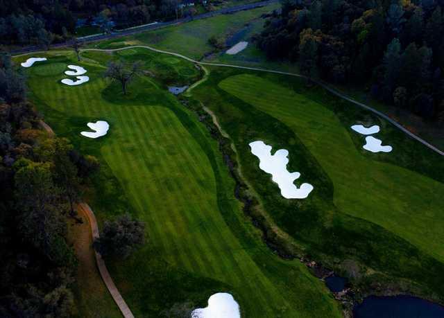 Aerial view from DarkHorse Golf Club.
