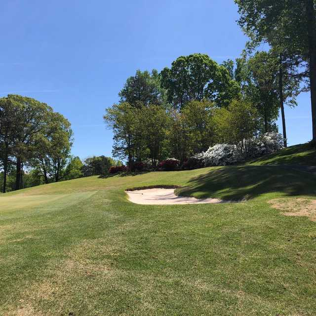 A view from Green's Folly Golf Course.
